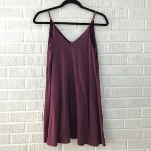 Aritzia Talula XXS Dress Purple Spaghetti Strap